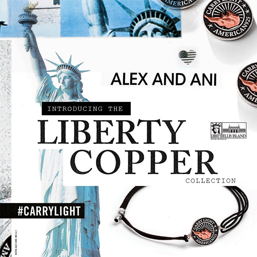 Liberty Copper Collection by Alex and Ani