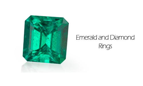 Emerald Diamond Rings from Ben David Jewelers