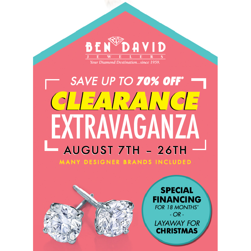 Save Up to 70% on Our Clearance Extravaganza This Week!
