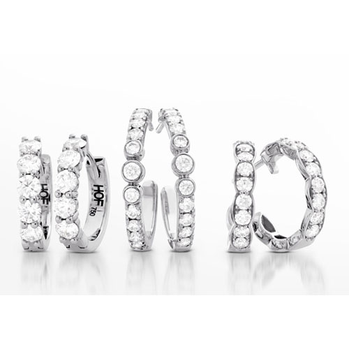 Pretty Earrings at Ben David Jewelers
