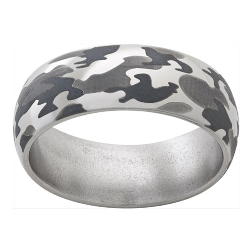 Camo! You Can Have Wedding Rings in Camo!