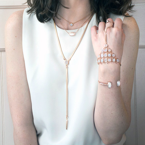 Rings and Bracelets by Kendra Scott