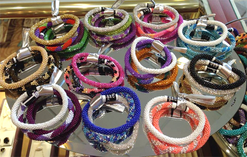 Beaded Bracelets by Lily and Laura
