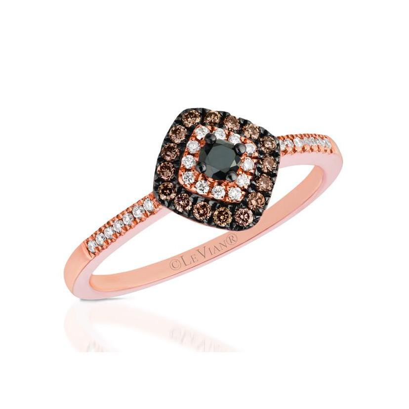Black Diamond Engagement Rings are Found at Ben David Jewelers