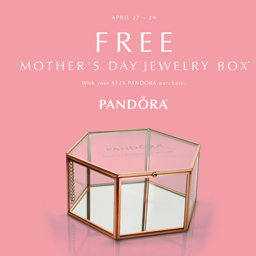 Where to Buy a Pandora Bracelet or Charms for Mother's Day