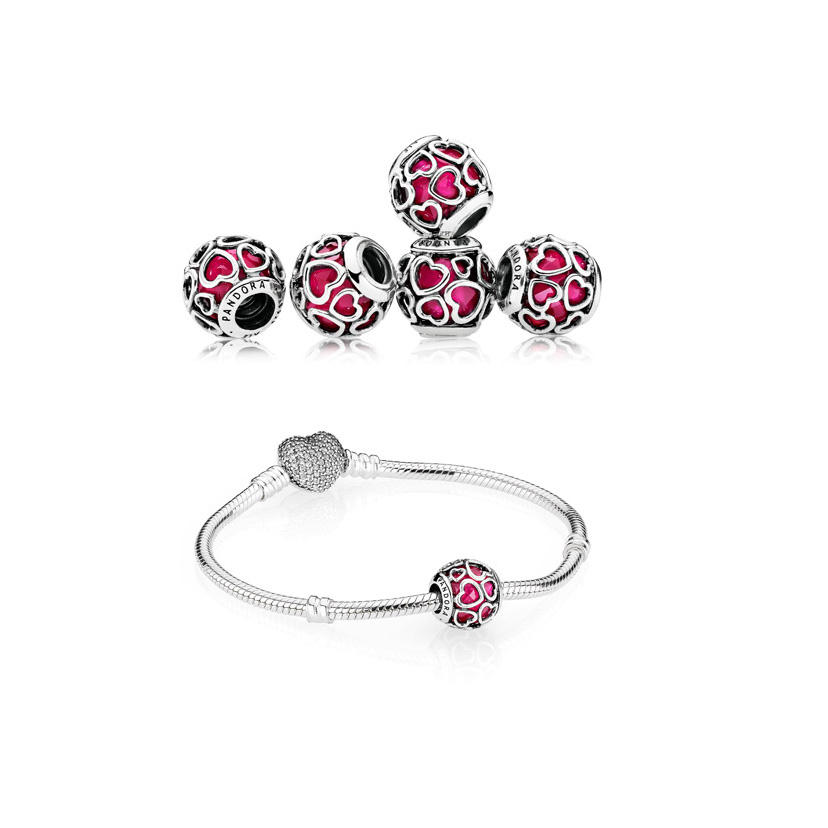 Sterling Silver Bracelets with Charms from Pandora
