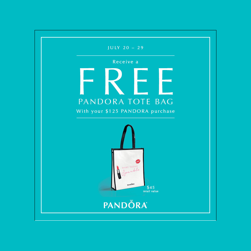 Pandora Beads and Charms with a FREE GIFT!