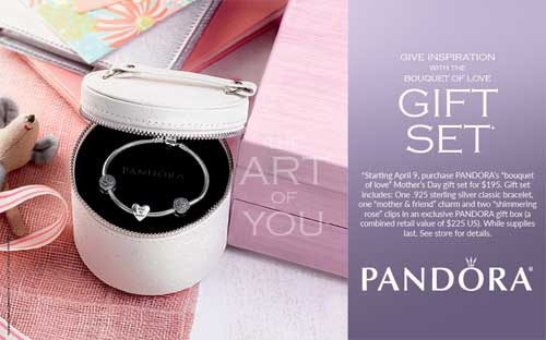 A Special Gift for Mother's Day from Pandora