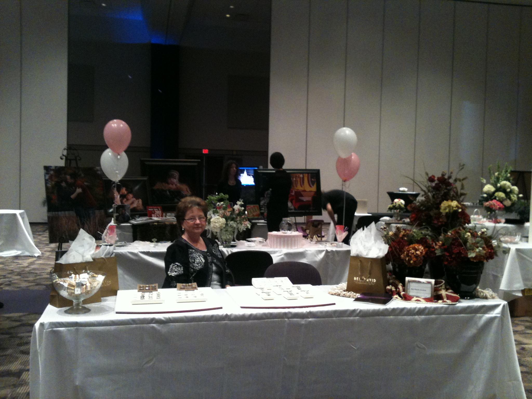 Ben David Jewelers at the Showcase Bridal Fair