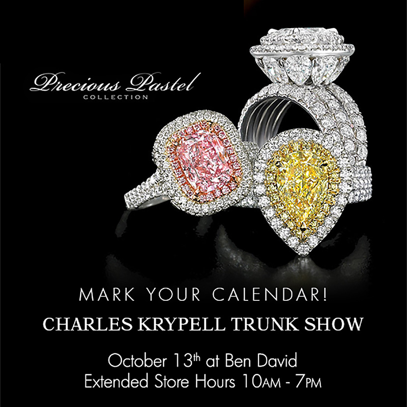 Trunk Show Featuring Hearts on Fire and Charles Krypell