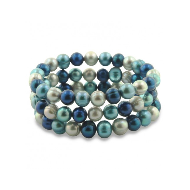 Stretch Pearl Bracelets by Honora