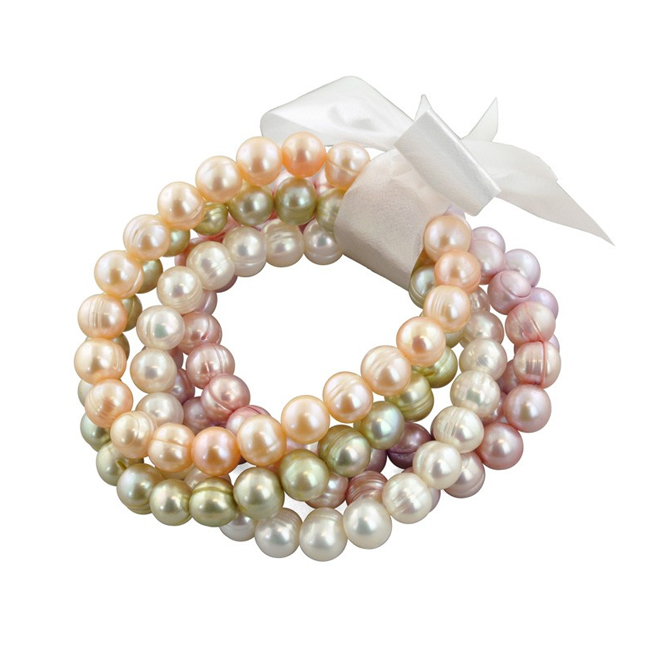 Stretch Pearl Bracelets make the perfect bridesmaids gift