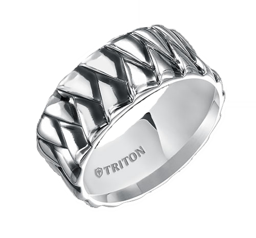 Men's wedding bands from Triton Jewelry