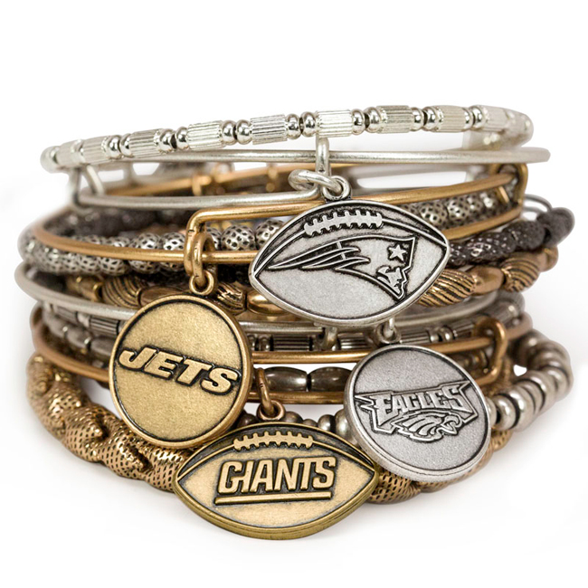 Brag about your team wearing Alex and Ani bracelets in Eden and Martinsville
