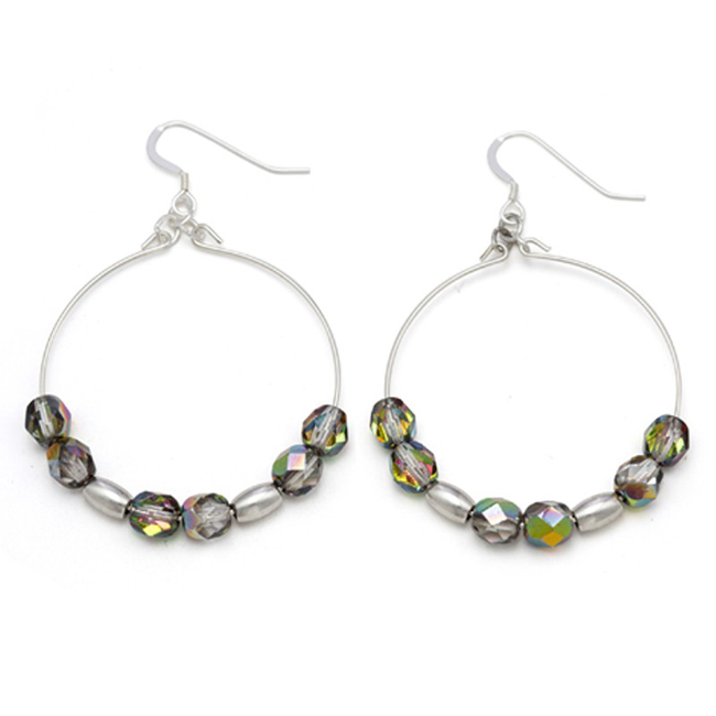 Stargazer earring pairs from Alex and Ani come in lots of colors.