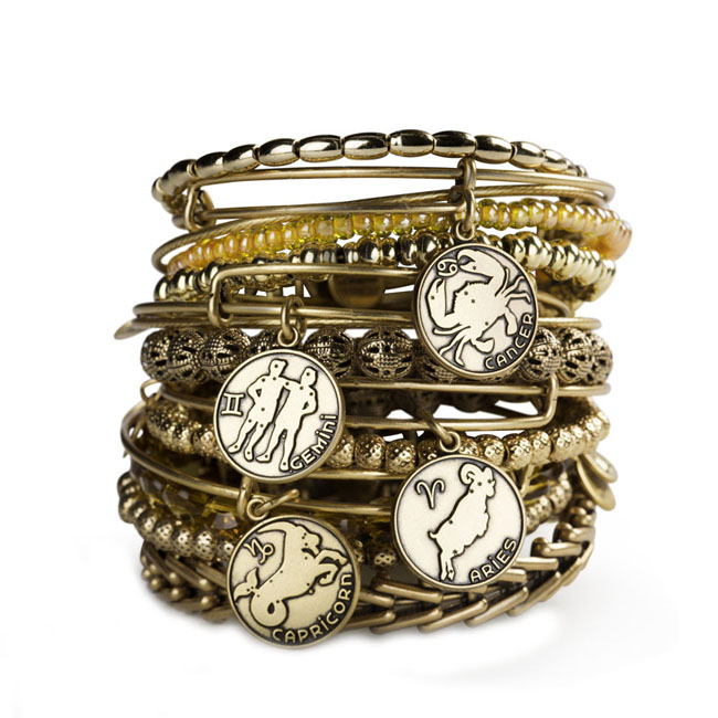Wear your Zodiac sign on your Alex and Ani bracelet in Eden or Martinsville