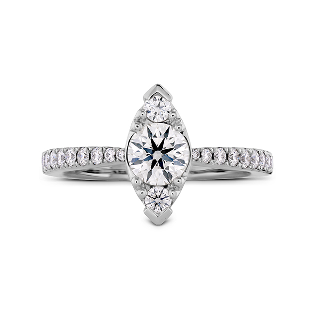 Engaged? Get this Hearts on Fire Diamond ring.