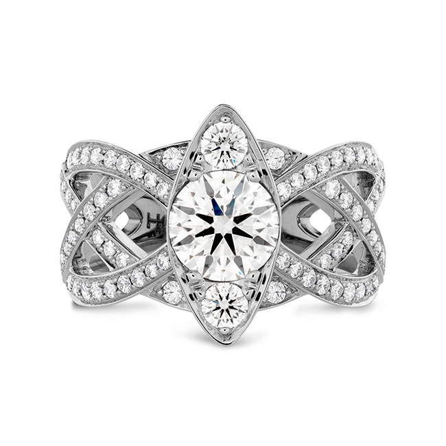 Chose a Hearts on Fire engagement ring when you become engaged.