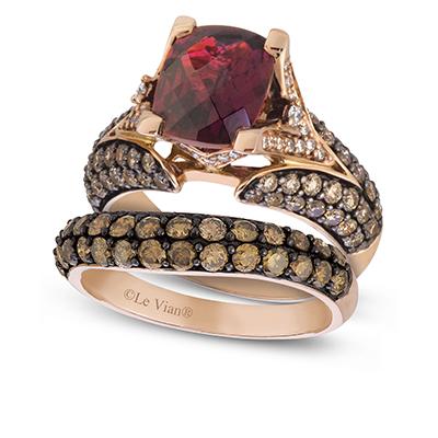 Chocolate diamond jewelry