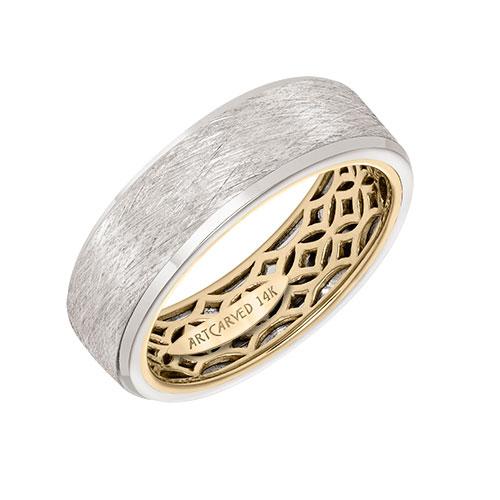 Wedding bands make nice men's rings