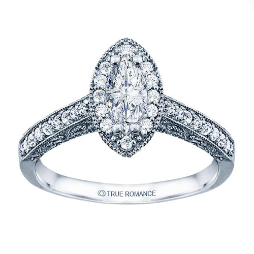 Ben David Collection of diamond engagement rings.