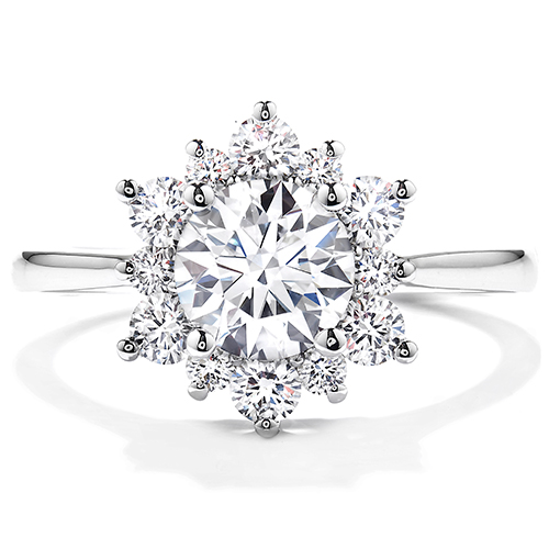 Jewelry free shipping is available on this beautiful Hearts on Fire Engagement Ring