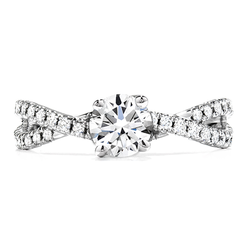 Mark your relationship with Hearts on Fire diamond engagement rings