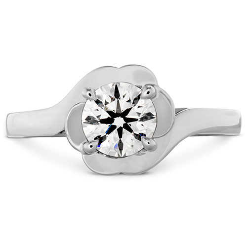 Lorelei Bloom white gold diamond ring