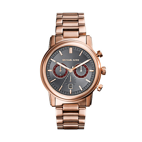 This watch by Michael Kors is a perfect gift from the jewelry and watches department.