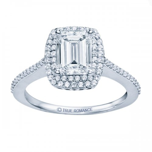 A True Romance ring can become a cubic zirconia ring.