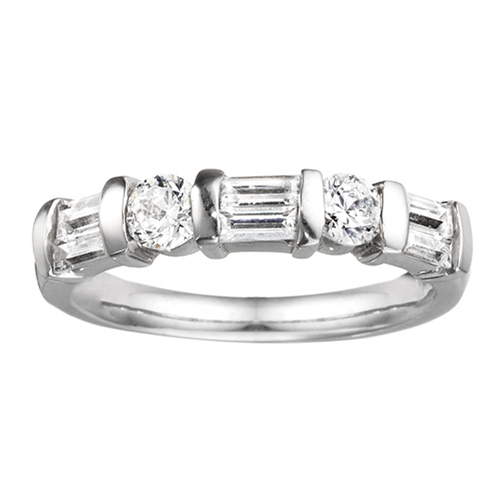 From the Anniversary Rings collection at Ben David Jewelers