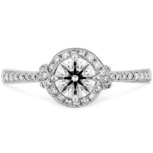 Hearts on Fire has a line of circle engagement rings