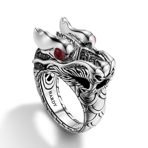 Custom jewelry can be made like this dragon ring