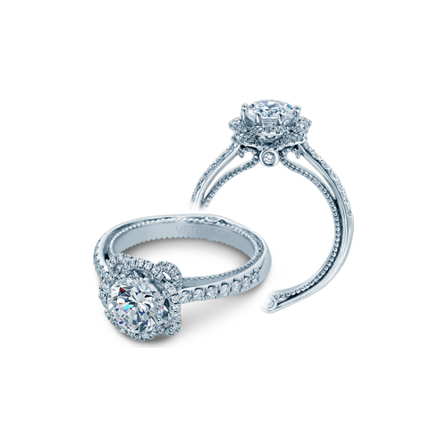 Verragio's engagement ring set availabe in Virginia and North Carolina.