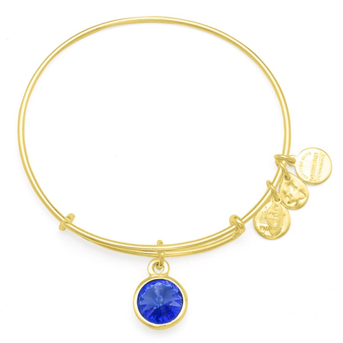Alex and Ani birthstone bracelet for September