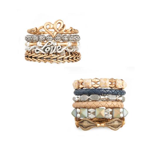 Last minute gift ideas for bracelets.