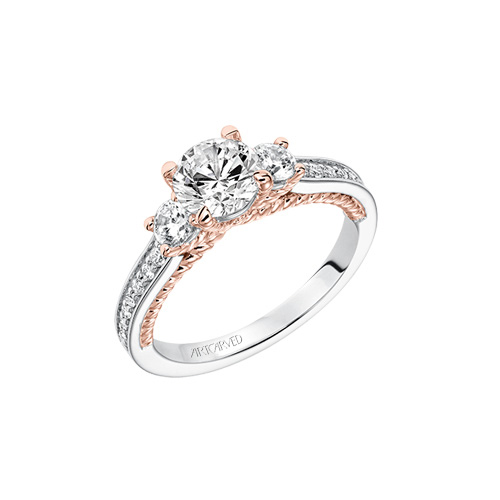 Engagement rings in traditional styles at Ben David Jewelers
