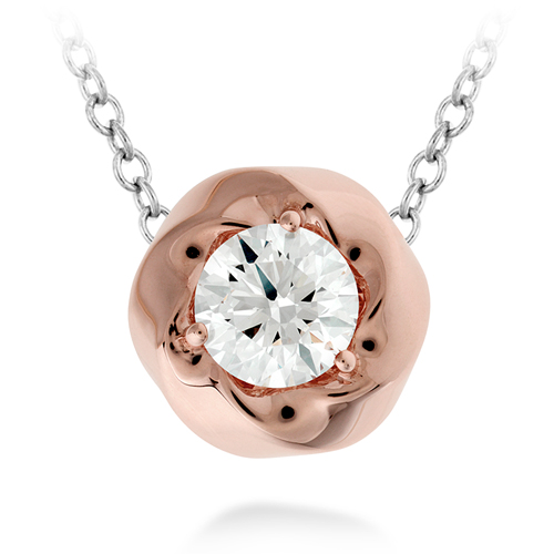 The Atlantico Pendant is available in rose gold.