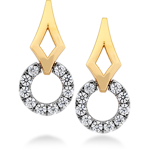 Diamond Earrings from Hearts on Fire