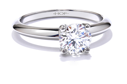 The best jewelry stores carry beautiful engagement rings available from Hearts on Fire Jewelers.
