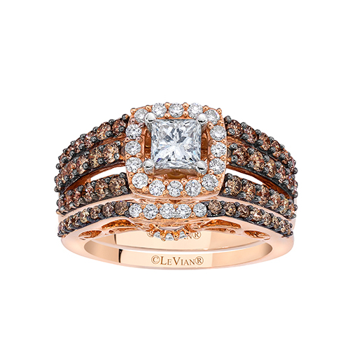 Beautiful engagement rings designed by LeVian Jewelers.