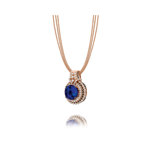 Blue Diamond Necklace from Levian Jewelers