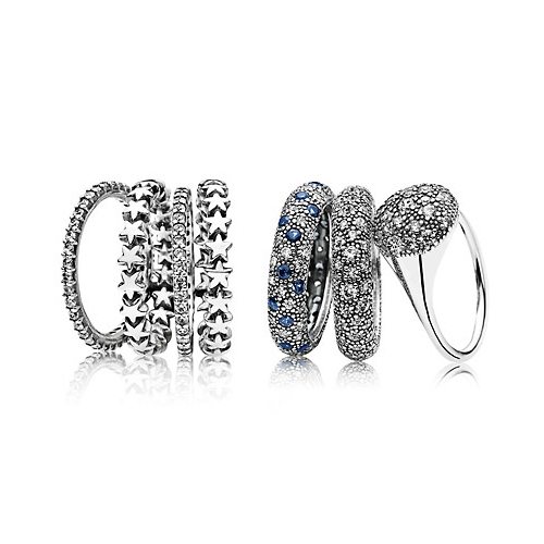Pandora rings make a great gift for a best friend.