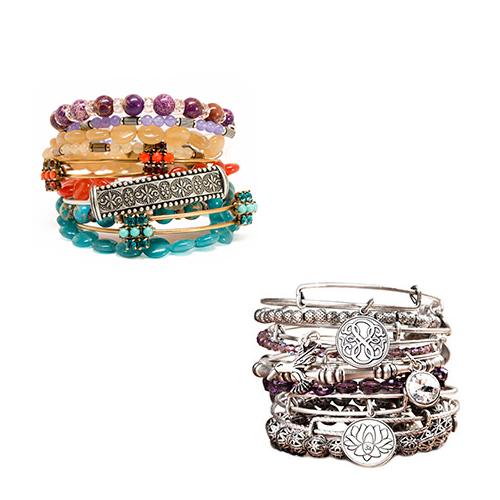 Charm Bracelet from Alex and Ani.