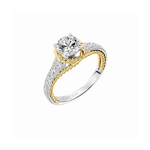 Danville Jewelers carry ArtCarved engagement rings.