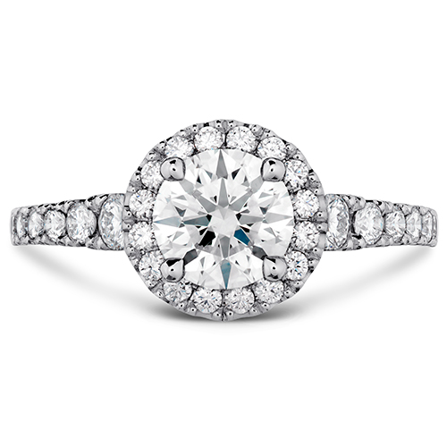 Halo Setting is a popular ring setting.