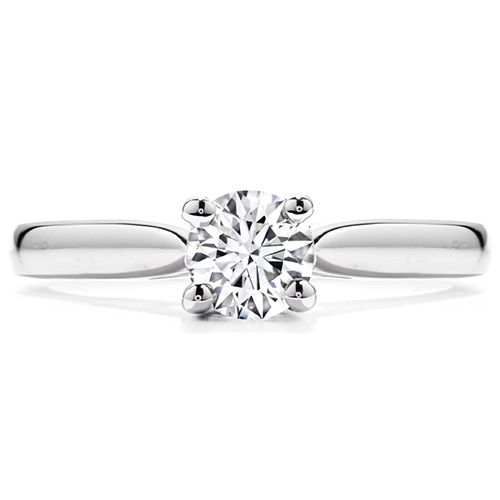 Prong setting is the most common of the ring settings.