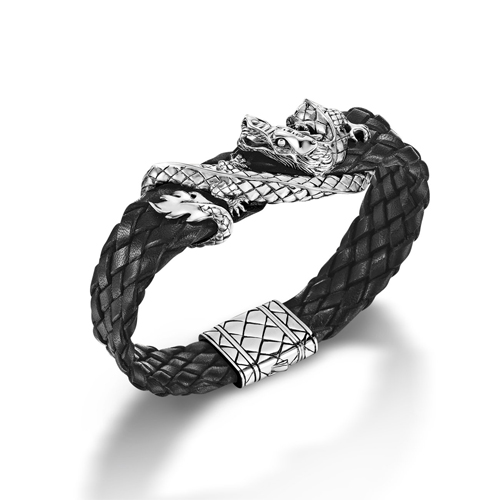 John Hardy Naga Collection features Dragons on their men's bracelets.