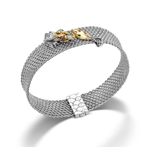 Bracelet from Naga Collection made of 925 Sterling Silver.