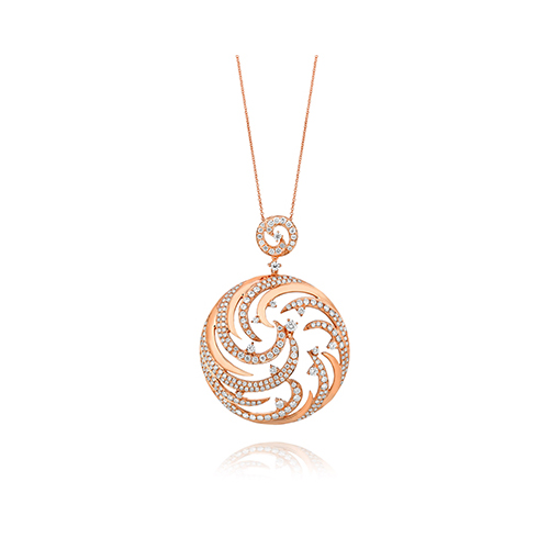 Girlfriend Gift Ideas for gold jewelry like a diamond necklace.